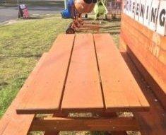 panther timber hardware hardwood picnic tables