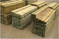 panther timber hardware treated timber sleepers