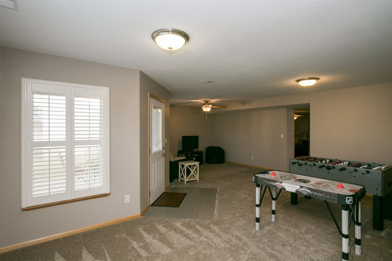 White room with entertainment