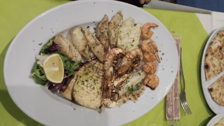 grigliata di pesce vercelli il gazebo ristorante pizzeria