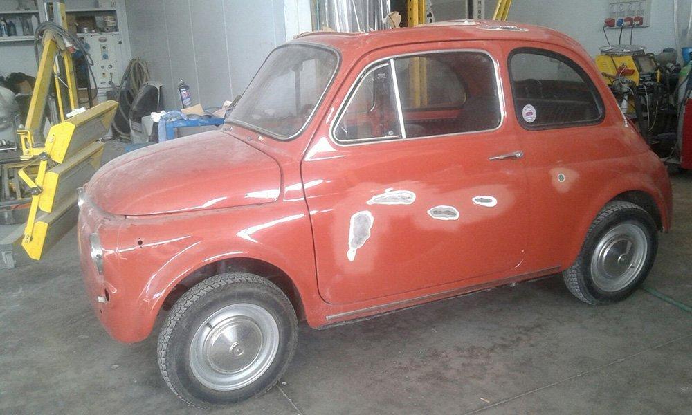 Fiat 500 restaurata