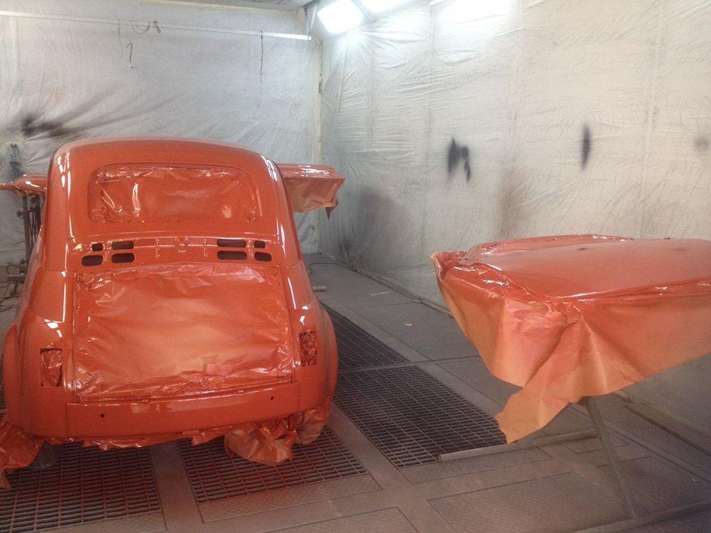 Fiat 500 in restauro