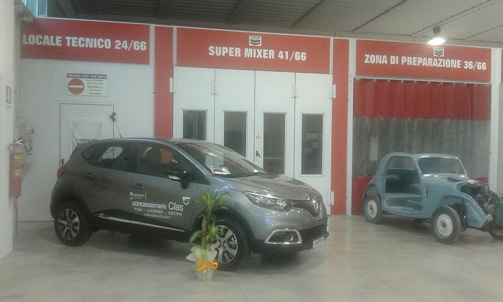 auto in officina