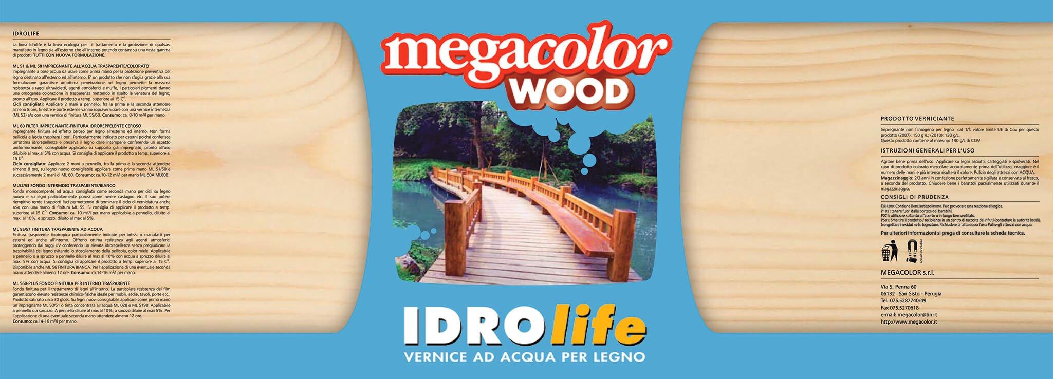 idrolife vernice ad acqua per legno