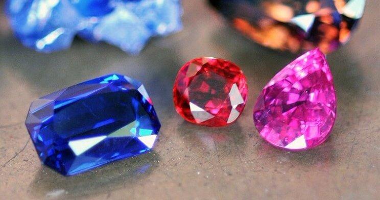 blue sapphire ruby pink sapphire gemstones