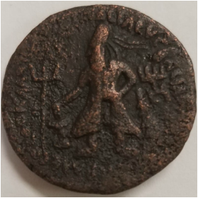 ancient warrior coin