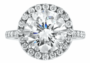 austin diamond engagement ring