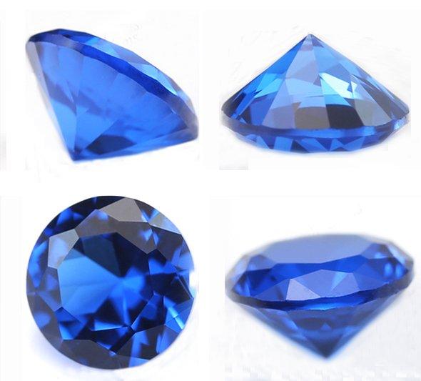 blue sapphire gemstone angles