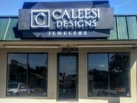caleesi designs store front