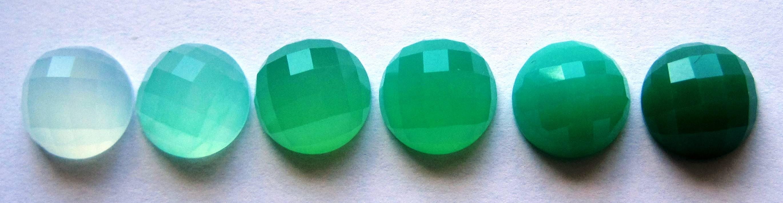 green chrysophrase gemstone