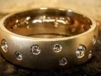 custom gold diamond ring