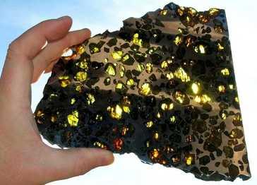 peridot meteorite