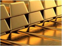 precious metal gold bars