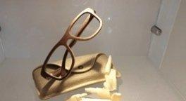occhiali legno