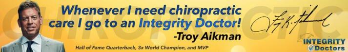 Troy Aikman endorses Integrity Doctors