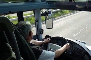 private bus driver for hire