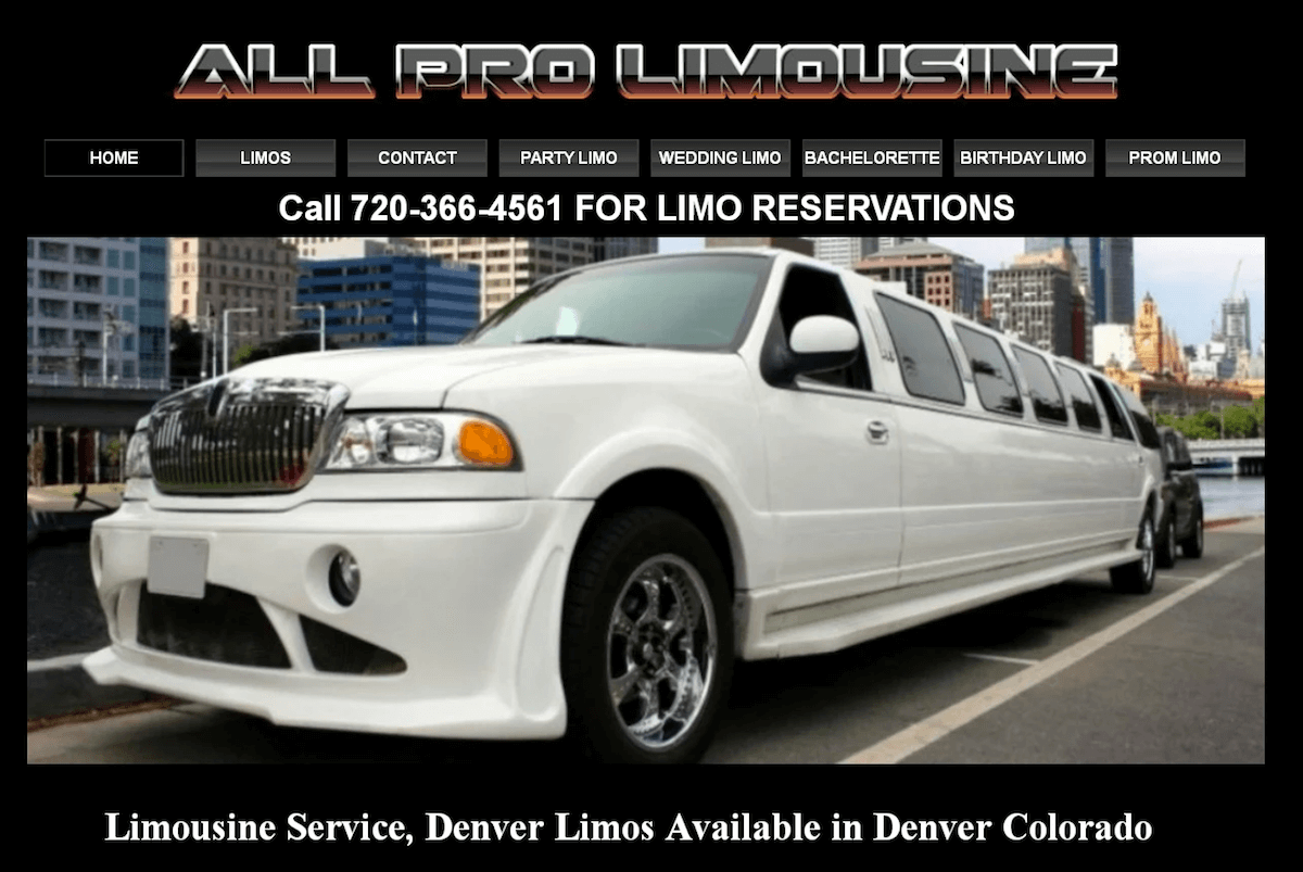 denver party bus and limo