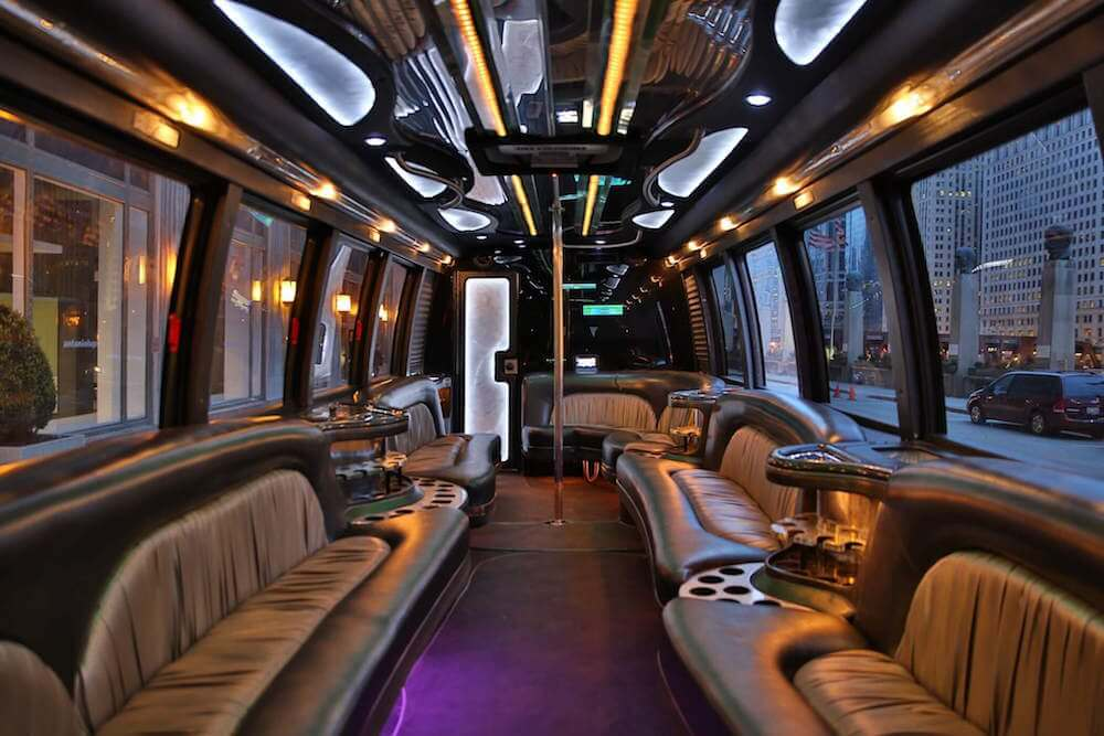 party bus with a bathroom phoenix restroom limo bus rental