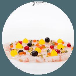 antipasti di mare Ristorante il Delfino Tellaro Lerici