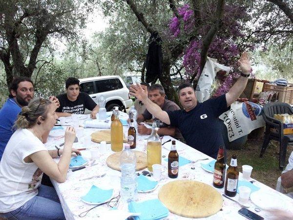 Celebrazione del gruppo presso Car Planet Garage Service