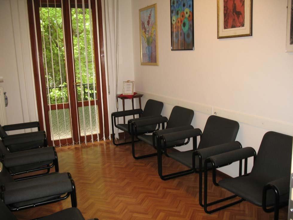 sala d'attesa presso studio ottico