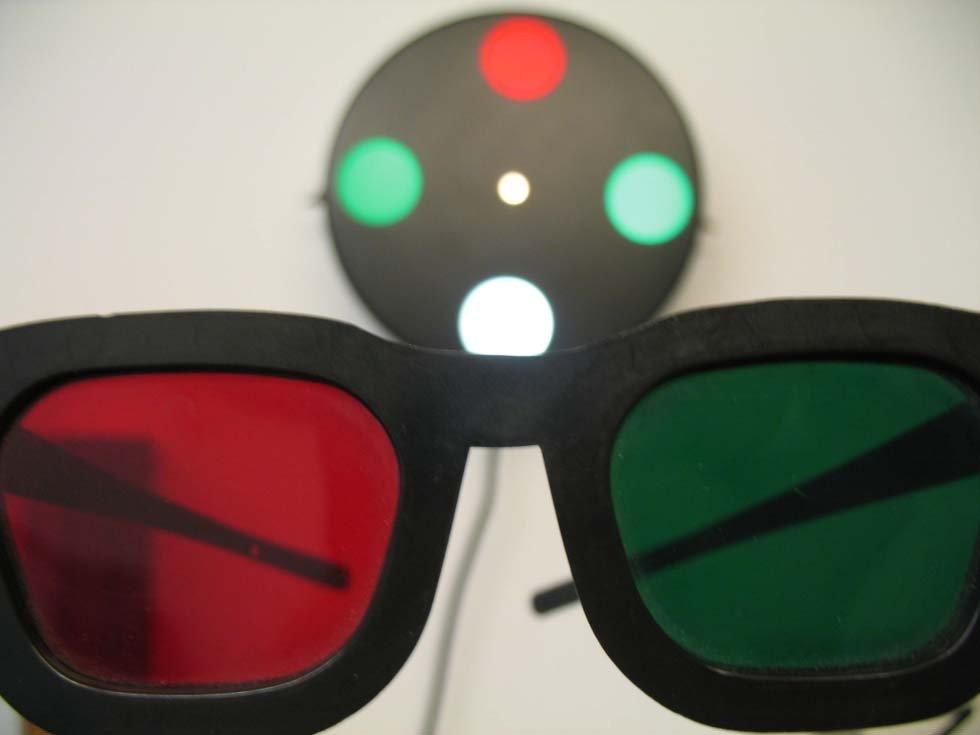 occhiali per il controllo della vista