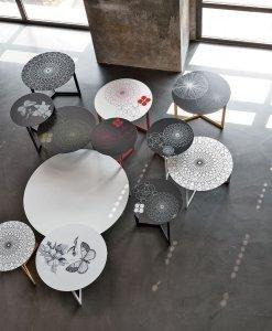 Tavolini e sgabelli