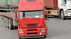 Camion per trasporto