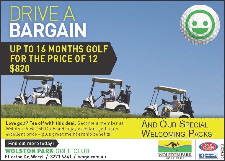 Golf Advertisement