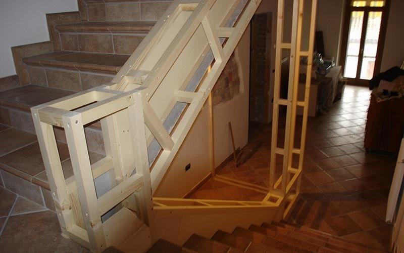 Vendita scale per interni treviso plz arredamenti - Scale eleganti per interni ...