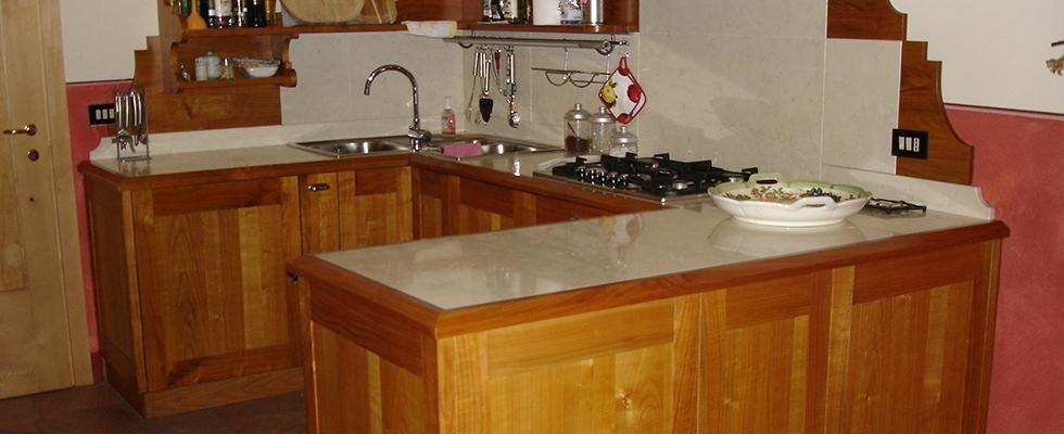 mobili legno cucine
