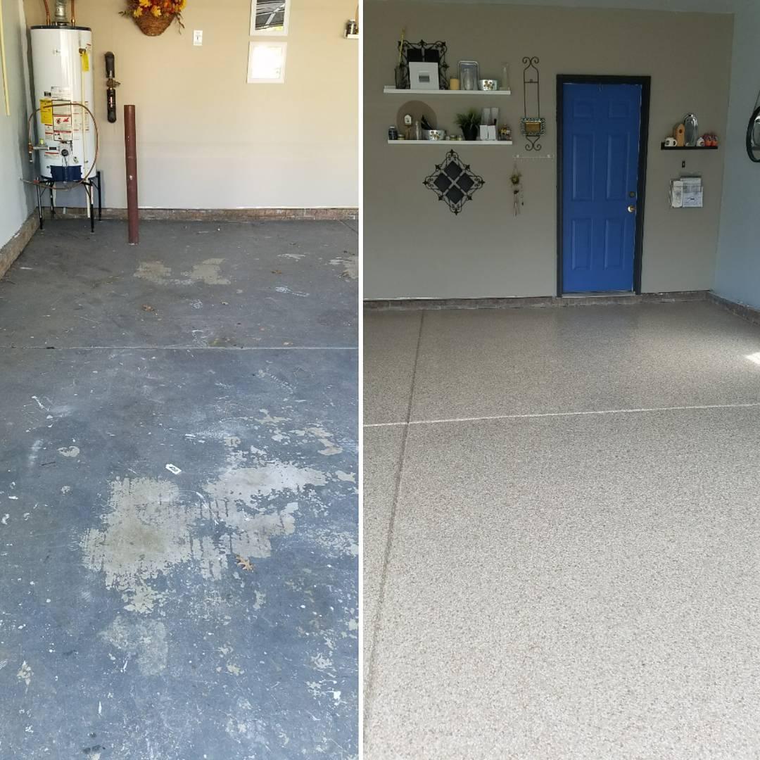 Epoxy Garage Floors Charlotte, NC