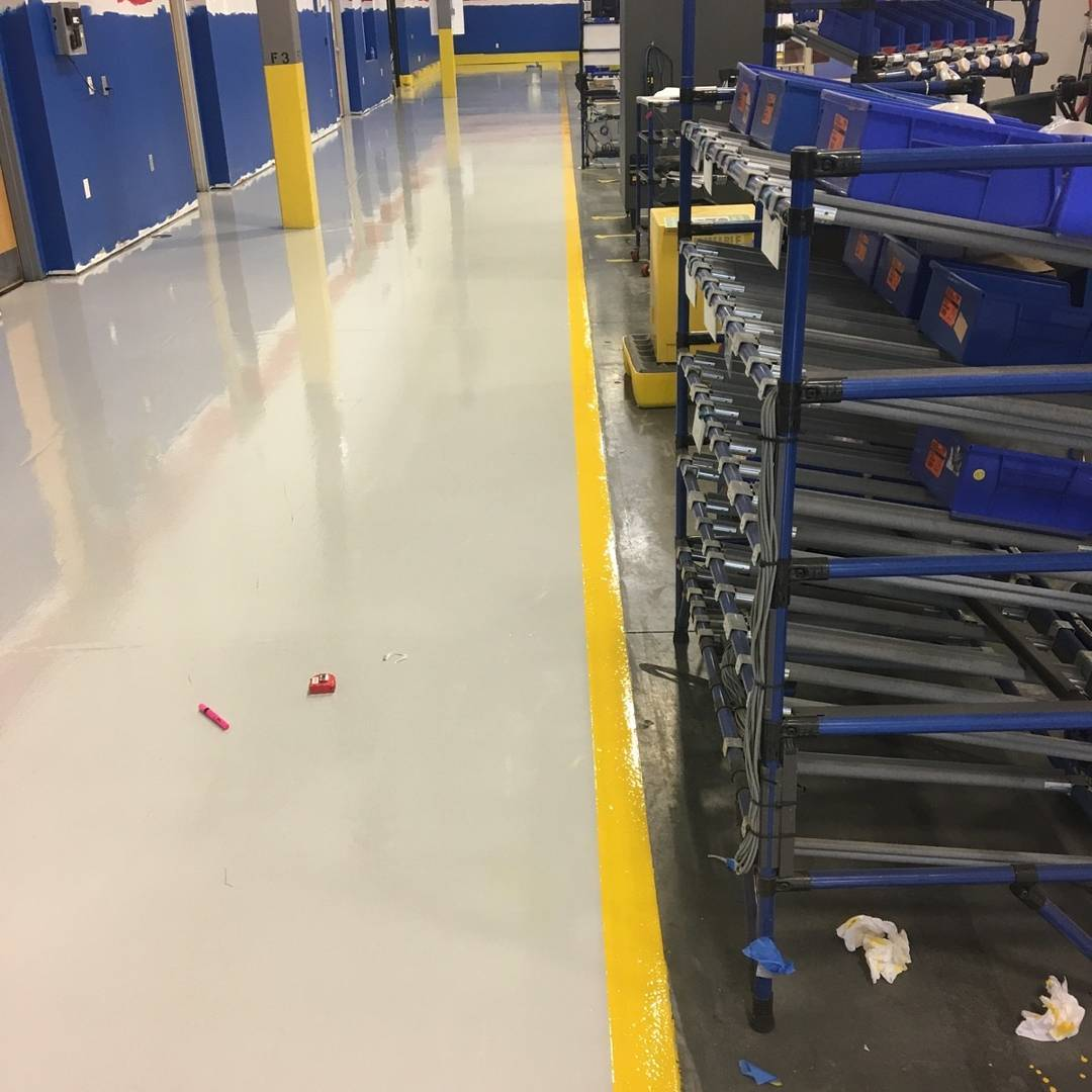 Industrial Floor Coatings Greensboro, NC