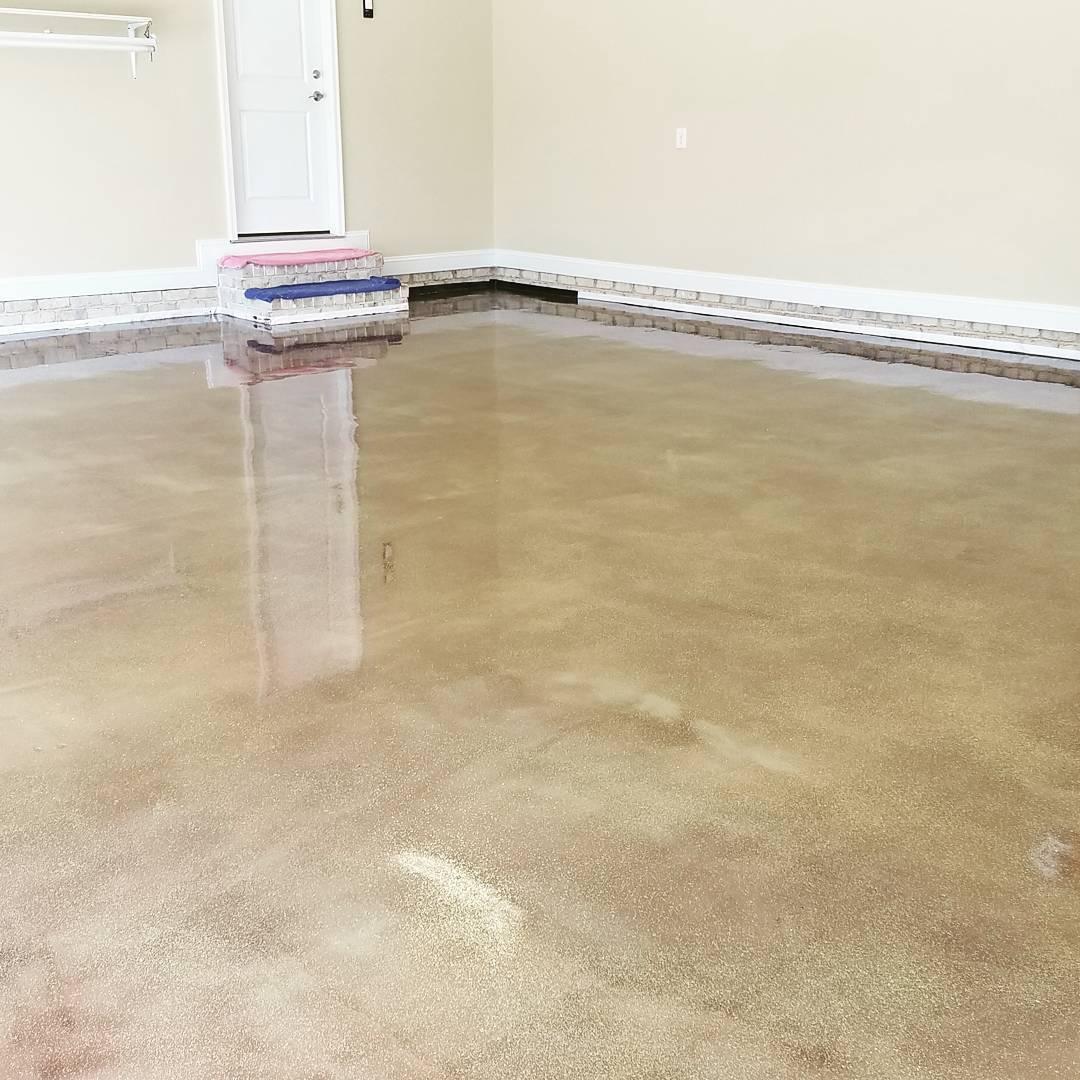 Metallic Epoxy Floors South Carolina