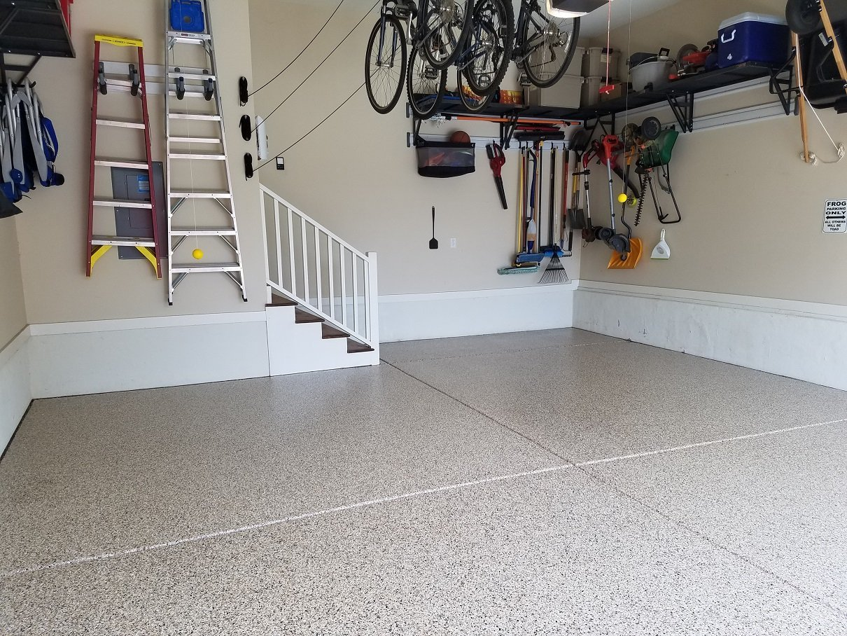 Garage Epoxy Flooring North Carolina