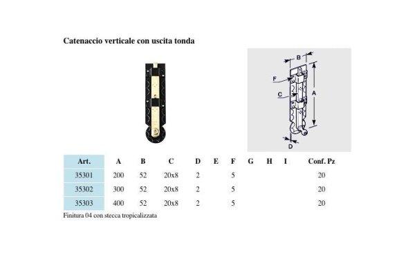 catenacci verticali