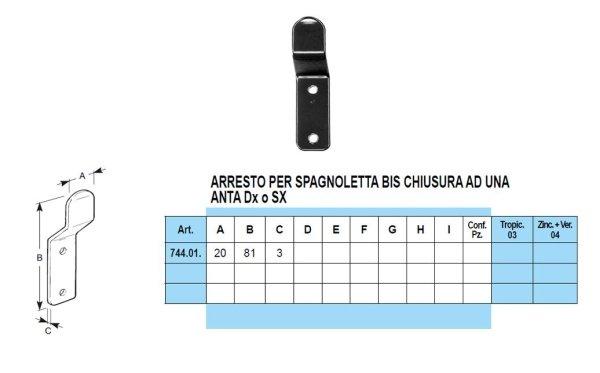 spagnolette bisellata bis 2