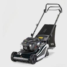 branded lawnmower