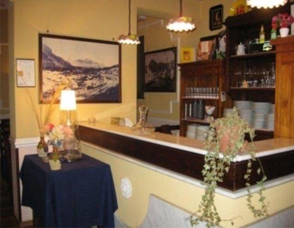 Area ristoro della sala da thè