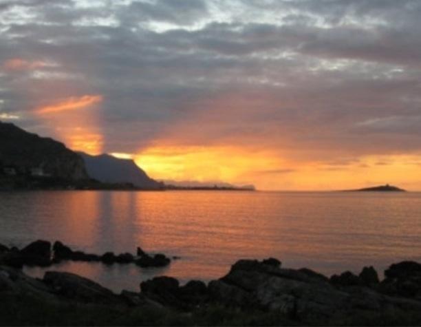 Lo splendido panorama che offre Sferracavallo