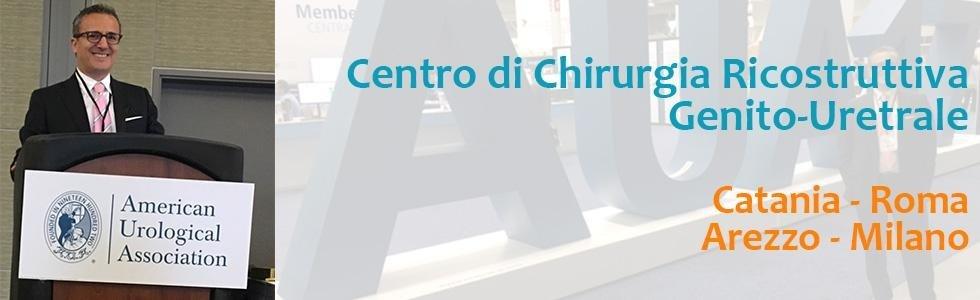 centro di chirurgia ricostruttiva genito-uretrale catania roma arezzo milano