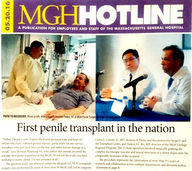 First Penile Transplant ​in USA
