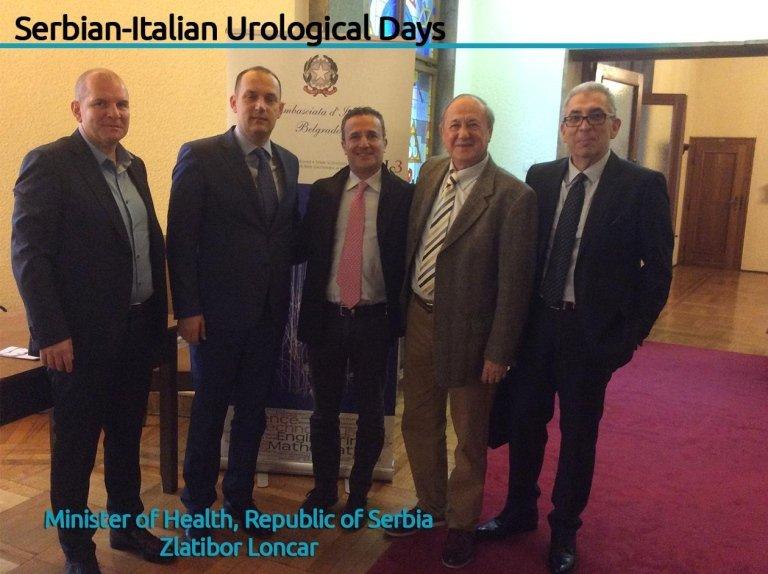 corso di urologia italia-serbia