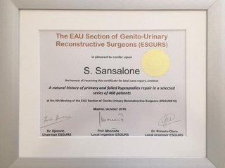 genitourinary surgeon Sansalone Salvatore