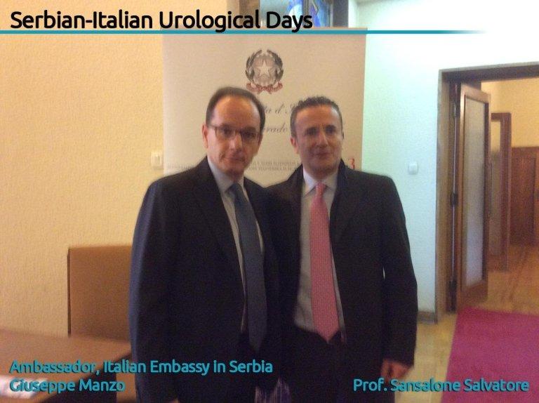 corso di urologia serbia