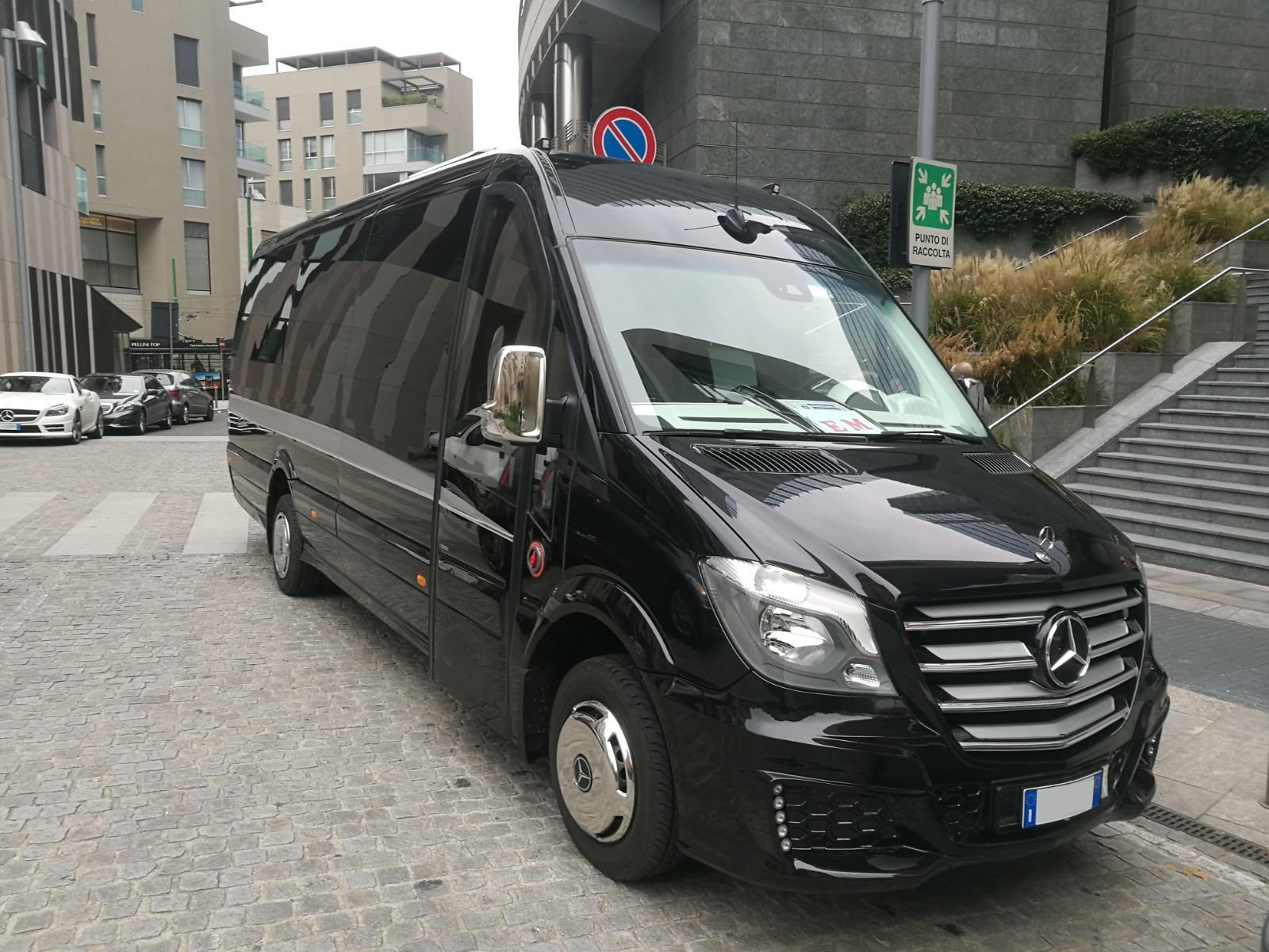 minivan taxi nero
