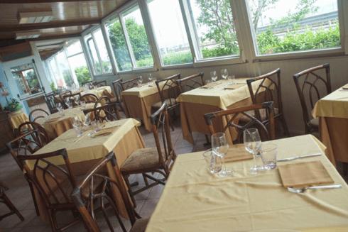 Il ristorante è aperto a pranzo e a cena.