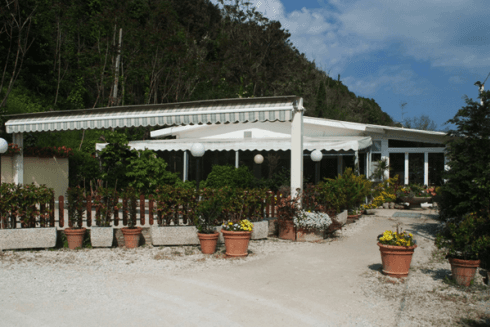 La veranda con l