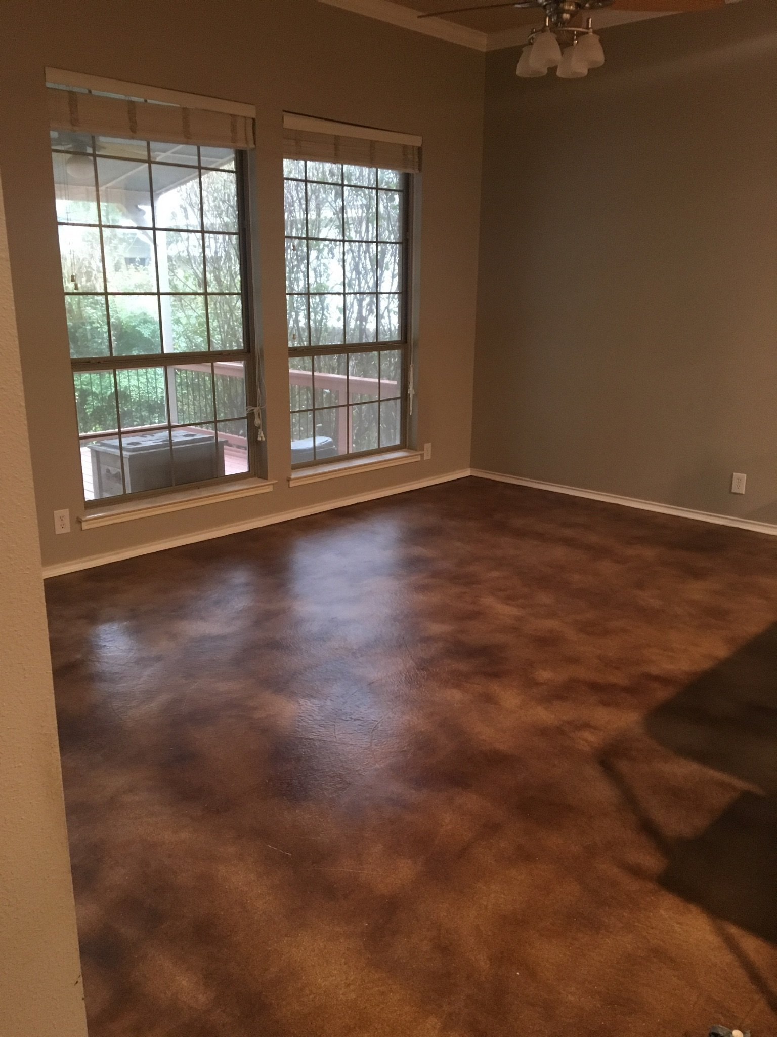 Polyurethane Amp Epoxy Flooring Garage Floor Epoxy For San