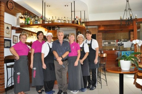 Staff di Trattoria Friuli Pavia di Udine
